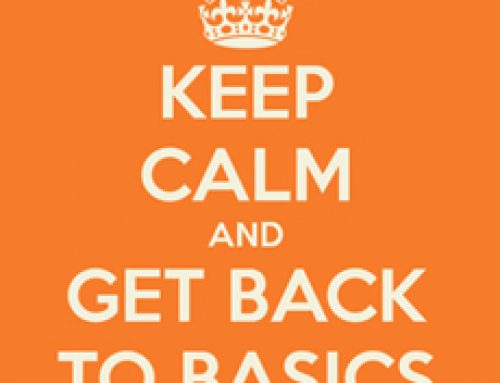 Too busy? Get back to basics.